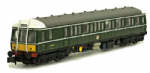 Dapol 4D-015-005 Class 122 BR Green Small Yellow Panel W55007